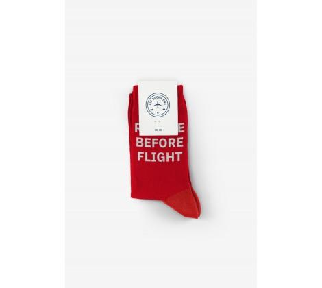 Air Socks One - Remove before flight