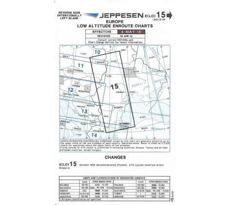 IFR Chart 15 - Pilotstore at