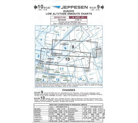 IFR Chart 9/10 - Pilotstore at