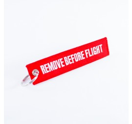 """Remove Before Flight"" Schlüsselanhänger"
