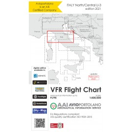 VFR Karte Italien LI3