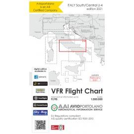 VFR Karte Italien LI4