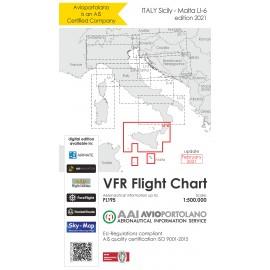 VFR Karte Italien LI6