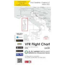 VFR Karte Italien LI7