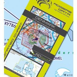 Sichtflugkarte Rogers Data Dänemark 2020