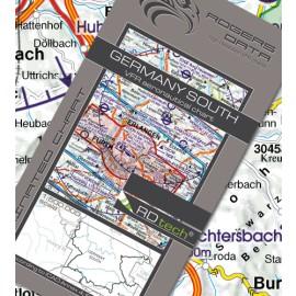 Sichtflugkarte Rogers Data Deutschland Süd 2020