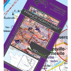 Sichtflugkarte Frankreich Nord-Ost 2020 - Rogers Data