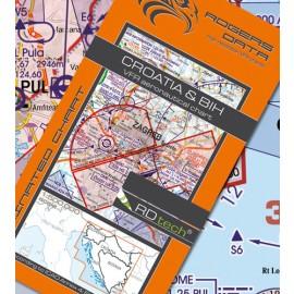 Sichtflugkarte Rogers Data Kroatien 2021