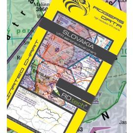 Sichtflugkarte Rogers Data Slowakei 2021