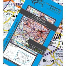 Sichtflugkarte Rogers Data Tschechien 2020