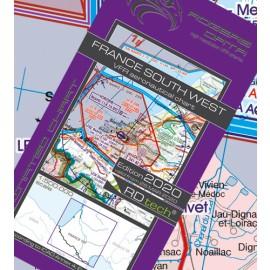 Sichtflugkarte Rogers Data Frankreich Süd-West 2020