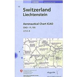 ICAO-Karte Schweiz & Liechtenstein Ausgabe 2021