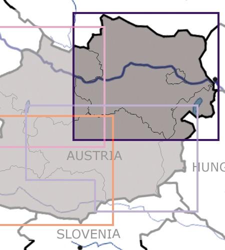 Karte Wien Niederosterreich.Sichtflugkarte Rogers Data Niederosterreich Wien 2019